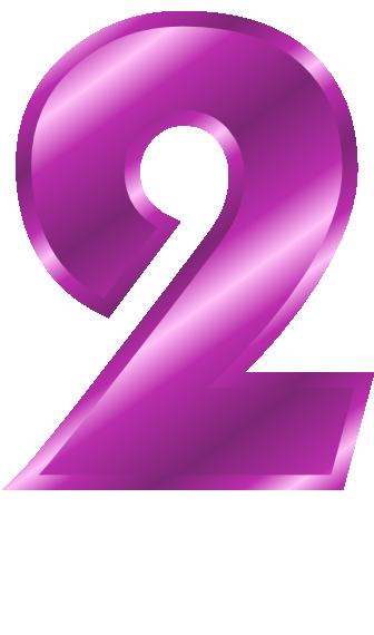 png T-png svg webp jpgNumber 2 Clipart Purple