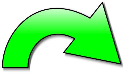 action arrow green right   signs symbol  arrows  arrow curved arrow clip art free curved arrow clip art black