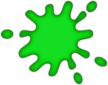 Green Paint Splash Gif