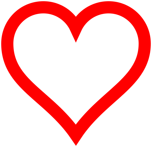 heart icon red hollow   signs symbol  love  hearts  heart black heart clip art jpeg 1600x1600 black heart clip art transparent background