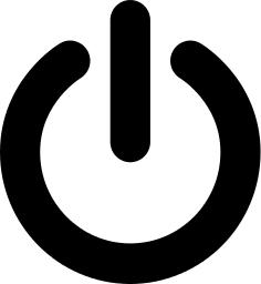 symbol button power symbols signs monochrome wpclipart changed app which turn formats webp svg zeichen dl