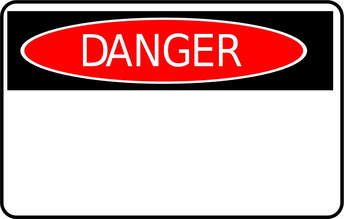 danger sign - /signs_symbol/safety_signs/danger_sign.png.html