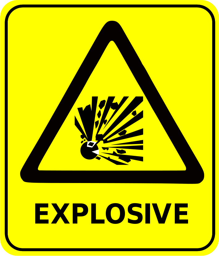 safety sign explosive  /signs_symbol/safety_signs/safety_signs_2
