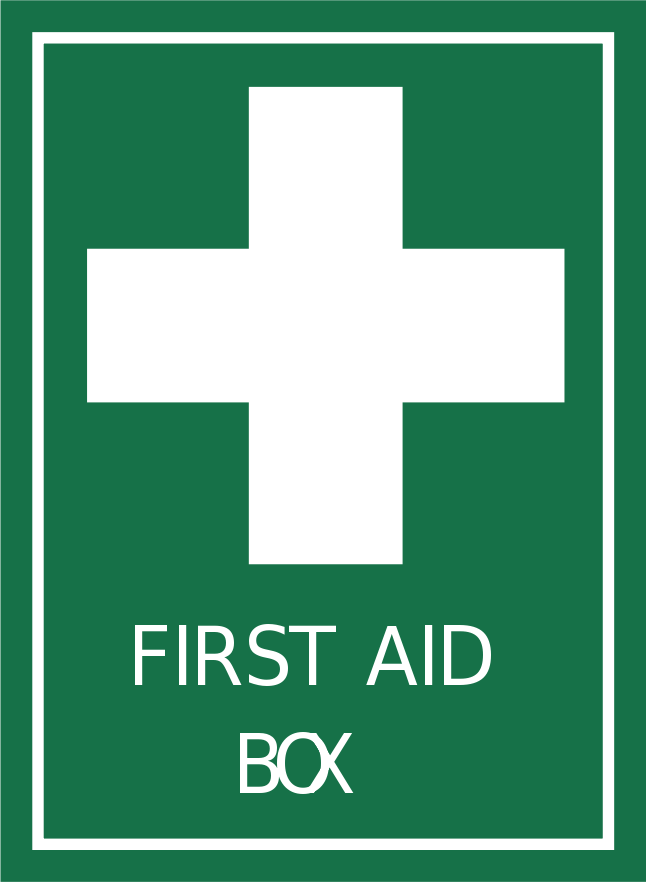 Signs Safety First First Aid Sign Clipart