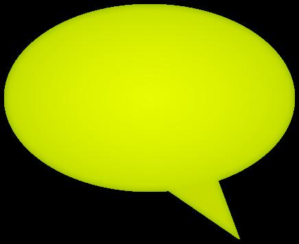 comment bubble gradient green left - /signs_symbol/speech ...