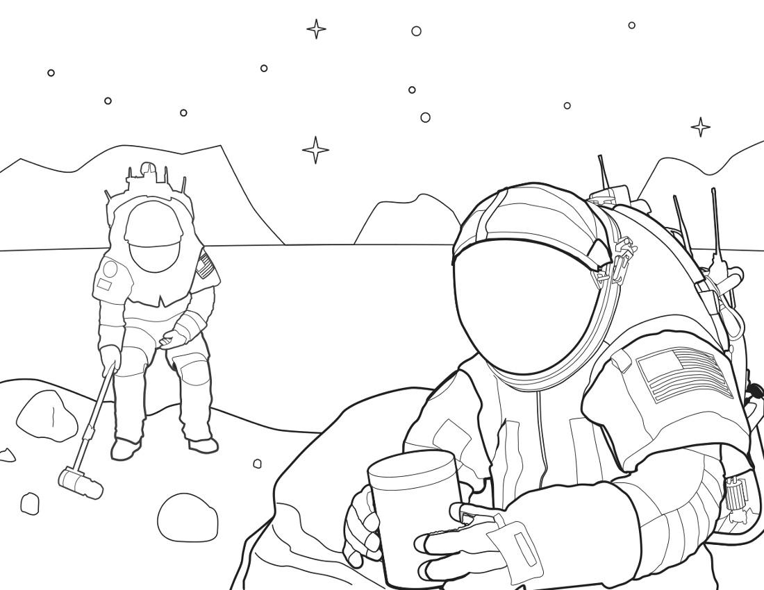 spacewalk coloring  space  coloring  spacewalk coloring