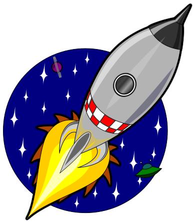 Cartoon rocket - /space/sci-fi/spaceship/Cartoon_rocket ...