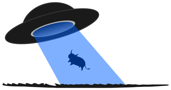 ufo cow abduction   space  ships  ufo  ufo cow abduction png cow clip art free printable cow clipart black and white