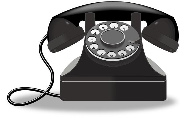 old telephone cartoon