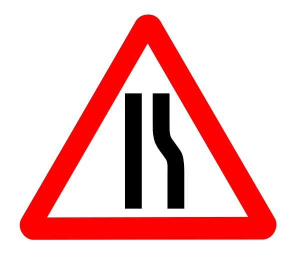 narrows   transportation  signs  signs 2  narrows png html road signs clip art jpg road sign clip art 66