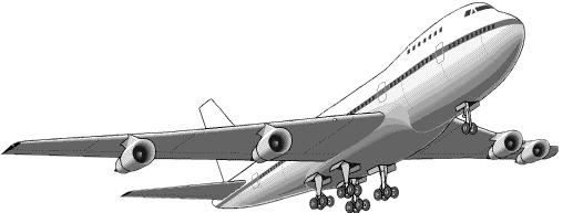 jet airliner   transportation  aircraft  jet  jet airliner aircraft clip art silhouette aircraft clipart free download