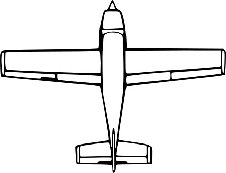 Plane Simple Drawing Step One Draw a Concept