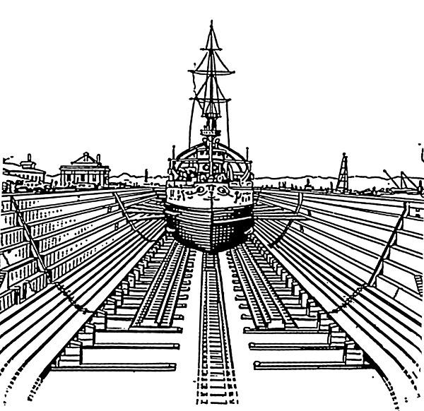 world war 2 drydock - finescale modeler