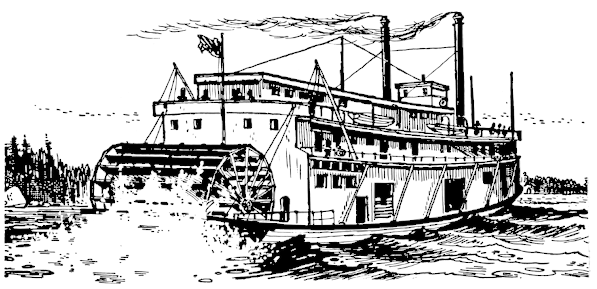 river boat clipart - photo #15