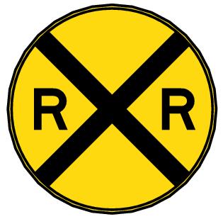 Railroad Crossing Clip Art railroad crossing 2 - ...