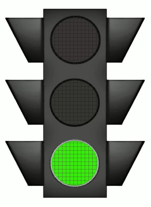 clipart traffic light green - photo #1