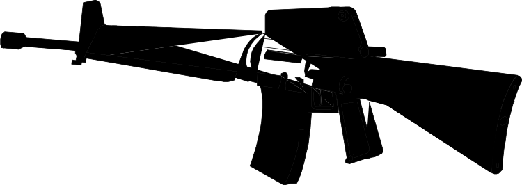 Rifle Clipart /rifle/m16 01png Clipart