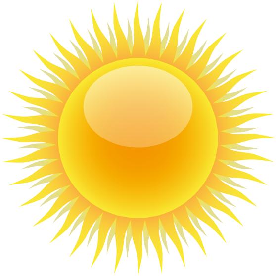 sun strong glossy   weather  sun  sun hot  sun strong glossy the sun clip art free images the sun is hot clipart