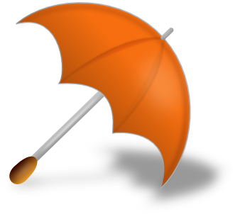 umbrella open on floor orange   weather  umbrella  open on clip art public domain microphone clip art public domain lecture