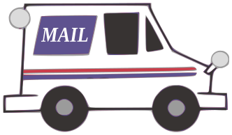 mail truck color   working  vehicles  mail truck color png html mailman clip art images mailman clipart images