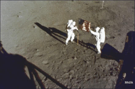 moon landing July 20 1969 - /world_history/the_hand_of_man ...