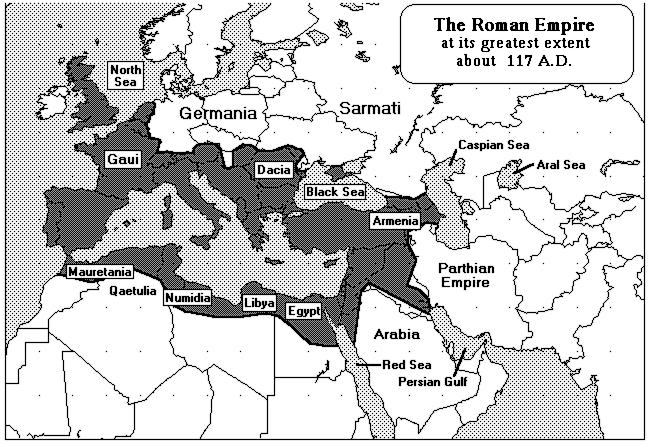 Roman empire 117 ad world history warfare roman roman empire 117 ad